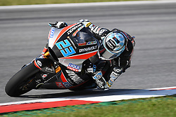 August 12, 2018 - Spielberg, Austria - 23 German driver Marcel Schrotter of Team Dynavolt Intact GP race during warm up of Austrian MotoGP grand prix in Red Bull Ring  in Spielberg, on August 12, 2018. (Credit Image: © Andrea Diodato/NurPhoto via ZUMA Press)