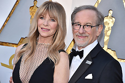 Kate Capshaw and Steven Spielberg