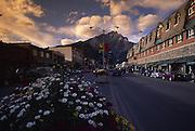 Downtown, Banff, Alberta,  Canada<br />