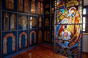 Fragmenj ekspozycji w Muzeum Ziemi Wiśnickiej
