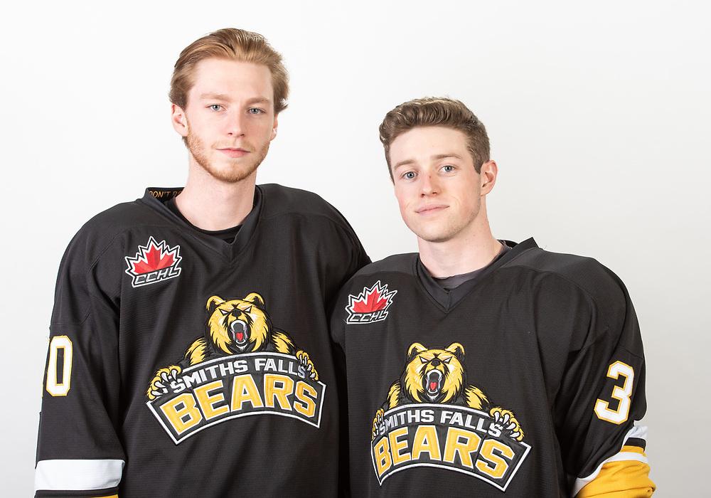 2020 Smiths Falls Bears Junior 'A' Portraits / Team Photo<br /> <br /> March 03, 2020<br /> <br /> Photo: Steve Kingsman