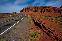 TORREY, Utah - 22 May 2020 - The view along Utah State Route 24 near the town of Torrey in the Capitol Reef National Park. Picture: Ryan Eyer