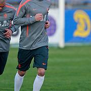 NLD/Katwijk/20110321 - Training Nederlandse Elftal Hongarije - NLD, Gregory van der Wiel
