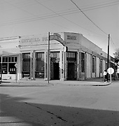 0001-560409-2. The Crystal Palace at the junction of Allen and Fifth, Tombstone, Arizona.  April 9, 1956.