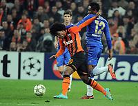Football - 2012 / 2013 Champions League - Group E: Shakhtar Donetsk vs. Chelsea<br /> <br />  at Donbass Arena, Donetsk, Ukraine.