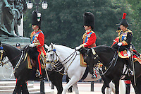 Prince Charles; Princess Anne Queen's Birthday Parade, Trooping The Colour, UK, 12 June 2010:  For piQtured Sales contact: Ian@Piqtured.com +44(0)791 626 2580 (Picture by Richard Goldschmidt/Piqtured)