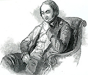 Edwin Chadwick (1800-1890) champion of sanitary improvements. The Public Health Act of 1848 was due largely to him, and he was a member of the General Board of Health which the Act established. Engraving.