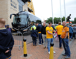 Everton coach arrives at the Molineux Stadium - Mandatory by-line: Nizaam Jones/JMP - 11/08/2018/ - FOOTBALL -Molineux  - Wolverhampton, England - Wolverhampton Wanderers v Everton - Premier League