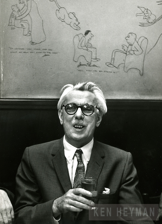 Cartoonist James Thurber