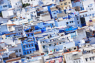 Old town (medina) of Chefchaouen, Morocco.