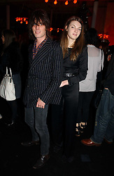 JACKSON SCOTT and model BEN GRIMES at a party to celebrate the launch of a range of leather accessories designed by Giles Deacon for Mulberry held at Harvey Nichols, Knightsbridge, London on 30th October 2007.<br /><br />NON EXCLUSIVE - WORLD RIGHTS