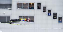 31.12.2014, Olympiaschanze, Garmisch Partenkirchen, GER, FIS Ski Sprung Weltcup, 63. Vierschanzentournee, Qualifikation, im Bild Stefan Kraft (AUT) // during qualification Jump of 63rd Four Hills Tournament of FIS Ski Jumping World Cup at the Olympiaschanze, Garmisch Partenkirchen, Germany on 2014/12/31. EXPA Pictures © 2014, PhotoCredit: EXPA/ JFK