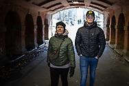 NEW YORK  2020V10<br /> <br /> Ellinor och Oscar i Central Park.<br /> <br /> Foto: Per Danielsson/Projekt.P