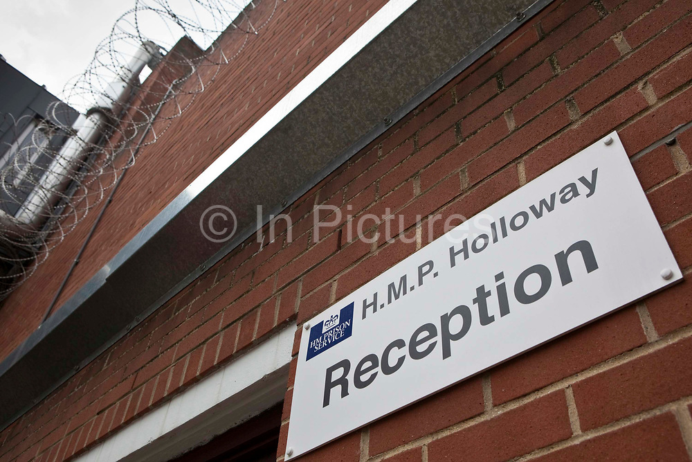 The prison reception that accepts  prisoners from court directly to HMP Holloway, the main womens prison in London. HM Prison Holloway (sometimes known as Holloway Castle) is a closed category prison for adult women and Young Offenders, located in the Holloway area of the London Borough of Islington, in north and Inner London, England. The prison is operated by Her Majesty's Prison Service. Holloway Prison holds female adults and young offenders remanded or sentenced by the local courts. Holloway prison offers both full-time and part-time education to inmates, with courses including skills training workshops, British Industrial Cleaning Science BICS, gardens and painting. There is a family-friendly visitor centre at Holloway, run by the Prison Advice & Care Trust (pact), an independent charity.