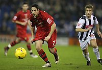 Photo: Rich Eaton.<br /> <br /> West Bromwich Albion v Cardiff City. Coca Cola Championship. 20/02/2007. Peter Whittingham attacks down the left wing for Cardiff