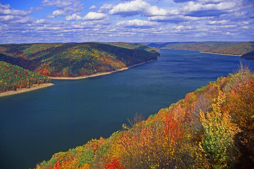 Aerial, Allegheny Reservoir, NE Pennsylvania, Allegheny National Forest