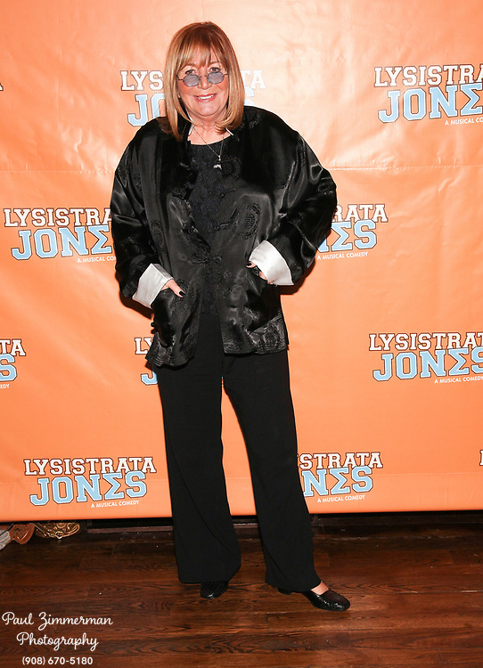 """NEW YORK, NY - DECEMBER 14:  Penny Marshall attends the """"Lysistrata Jones"""" Broadway opening night after party at the New Liberty Theatre on December 14, 2011 in New York City.  (Photo by Paul Zimmerman/WireImage)"""