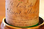Clos de Saint Yves, Domaine de Baumard 1981, Savennieres, Loire, France