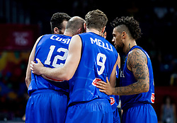 Players of Italy during basketball match between National Teams of Finland and Italy at Day 10 in Round of 16 of the FIBA EuroBasket 2017 at Sinan Erdem Dome in Istanbul, Turkey on September 9, 2017. Photo by Vid Ponikvar / Sportida