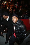 Nas at The Q-Tip Album release party sponsored by Target held at The Bowery Hotel in NYC on October 28, 2008