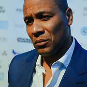 Les Ferdinand Arrives at London Football Awards 2018 at Battersea Evolution on 1st March 2018,  London, UK.