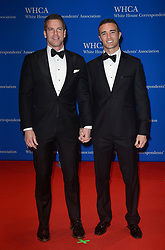 Journalist Thomas Roberts (L) Patrick Abner arrive for the White House Correspondents' Association (WHCA) dinner in Washington, D.C., on Saturday, April 29, 2017 (Photo by Riccardo Savi)  *** Please Use Credit from Credit Field ***