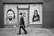 Amzie Adams Walking on Frenchman St.
