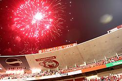 Comemorações após a partida entre as equipes do Internacional e Chivas, realizada no Estádio Beira Rio em Porto Alegre, válido pela final da Copa Libertadores da America 2010, onde o colorado sagrou-se bicampeão. FOTO: Jefferson Bernardes / Preview.com