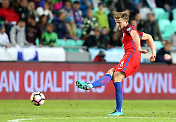 Eric Dier of England passes the ball - Mandatory by-line: Robbie Stephenson/JMP - 11/10/2016 - FOOTBALL - RSC Stozice - Ljubljana, England - Slovenia v England - World Cup European Qualifier