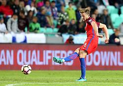 Eric Dier of England passes the ball - Mandatory by-line: Robbie Stephenson/JMP - 11/10/2016 - FOOTBALL - RSC Stozice - Ljubljana, England - Slovenia v England - World Cup European Qualifier