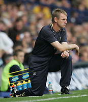 Photo: Andi Thompson.<br />Everton v Manchester City. The Barclays Premiership. 30/09/2006.<br />Manchester City Manager Stuart Pearce