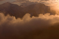 Sunset clouds above the Western Tatras, Slovakia. June 2009. Mission: Ticha