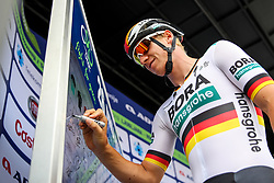 Pascal Ackermann (GER) of Bora - Hansgrohe before 1st Stage of 26th Tour of Slovenia 2019 cycling race between Ljubljana and Rogaska Slatina (171 km), on June 19, 2019 in  Slovenia. Photo by Matic Klansek Velej / Sportida