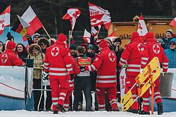16.02.2020, Kulm, Bad Mitterndorf, AUT, FIS Ski Flug Weltcup, Kulm, Herren, im Bild Roman Koudelka (CZE) // Roman Koudelka of Czech Republic during his Jump for the men's FIS Ski Flying World Cup at the Kulm in Bad Mitterndorf, Austria on 2020/02/16. EXPA Pictures © 2020, PhotoCredit: EXPA/ Dominik Angerer