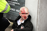 EDL Demonstration at Leicester