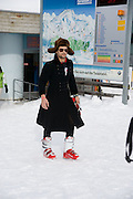 RIANO MARTIANI, Children and Adult ski race in aid of the Knights of Malta,  Furtschellas. St. Moritz, Switzerland. 23 January 2009 *** Local Caption *** -DO NOT ARCHIVE-© Copyright Photograph by Dafydd Jones. 248 Clapham Rd. London SW9 0PZ. Tel 0207 820 0771. www.dafjones.com.<br /> RIANO MARTIANI, Children and Adult ski race in aid of the Knights of Malta,  Furtschellas. St. Moritz, Switzerland. 23 January 2009