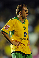 Photo: Glyn Thomas.<br />Birmingham City v Norwicht. Carling Cup.<br />26/10/2005.<br /> Norwich's Darren Huckerby looks dejected as Birmingham take the lead.