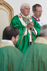 Pope Benedict XVI visits San Giovanni Rotondo - Italy