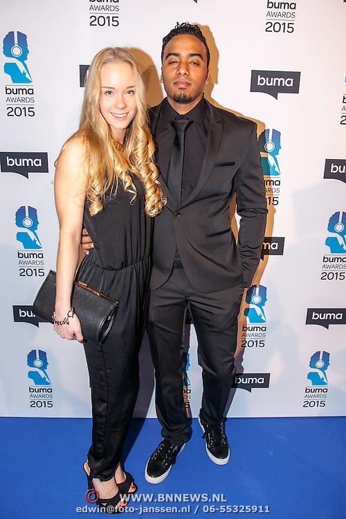 NLD/Hilversum/20150217 - Inloop Buma Awards 2015,  ...............