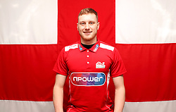 Team England's Luke Greenbank poses for a photo during the kitting out session at Kukri Sports HQ, Preston.