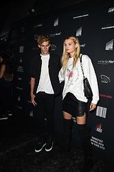 Alexander Wang's Super models party at the backstage area in Brooklyn<br /><br />9 September 2017.<br /><br />Please byline: Vantagenews.com