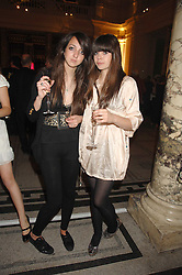 Left to right,TISH WEINSTOCK and JESS DRAPER at a party to celebrate the 150th anniversary of the V&A museum, Cromwell Road, London on 26th June 2007.<br /><br />NON EXCLUSIVE - WORLD RIGHTS