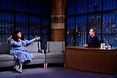 """April 27, 2021 - NY: NBC's """"Late Night With Seth Meyers"""" - Episode 1136A"""