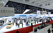 Germany's Volkswagen automaker displays its cars during Shanghai Motor Show, in Shanghai, China, on April 20, 2009. Shanghai auto show opened Monday for the press and will be open April 24-28 for the public. China is the only major auto market still growing despite the global economic slowdown. U.S. and global auto makers see China as the place where they can find the sales they desperately lack in their home market. Chinese automakers see the opportunity to assess themselves as major players in the world market. Photo by Lucas Schifres/Pictobank