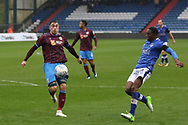 Dan Gardner Oldham Midfielder during the EFL Sky Bet League 1 match between Oldham Athletic and Scunthorpe United at Boundary Park, Oldham, England on 28 October 2017. Photo by George Franks.