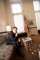 my brother, Senator Al Franken in his Washington office