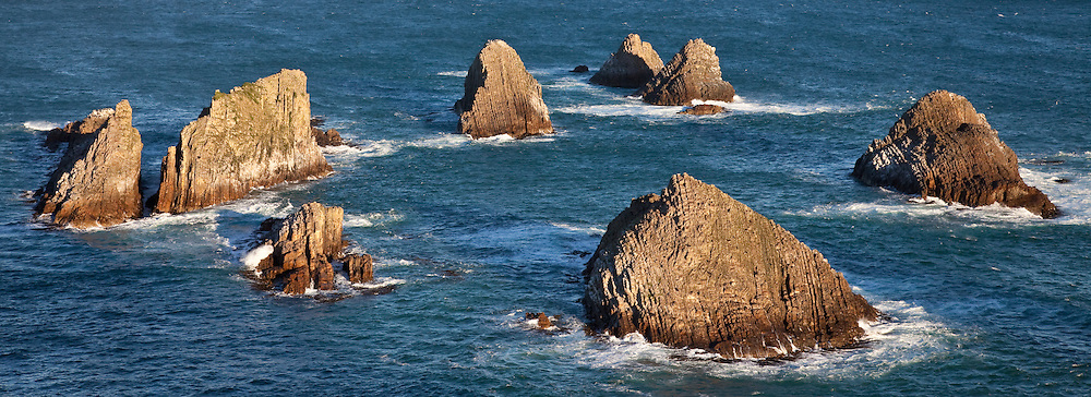 Nugget Point, New Zealand (12x33 inch print)