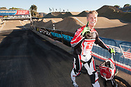 #91 (WILLOUGHBY Sam) AUS wins the 2013 UCI BMX Supercross World Cup in Chula Vista