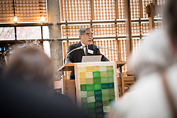 18 September 2017, Geneva, Switzerland: Morning prayers at the Ecumenical Centre in Geneva, as the World Council of Churches hosts a meeting of member churches' Ecumenical Officers. Here, Prof. Victor W. C. Hsu from the Presbyterian Church in Taiwan.