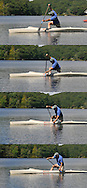 Sprint Canoe and Paddle Stroke